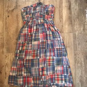 Dresses & Skirts - Tie Plaid Dress (S)